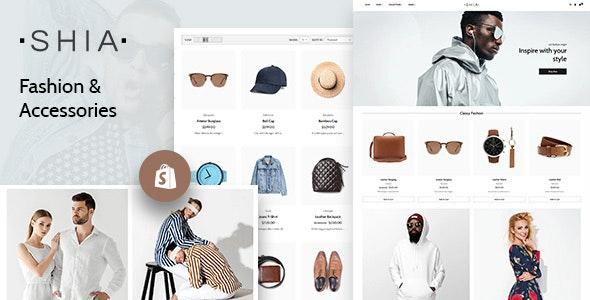 Shia - Clean Shopify Theme - Fashion Shopify
