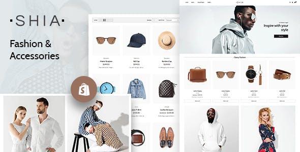 Shia - Clean Shopify Theme