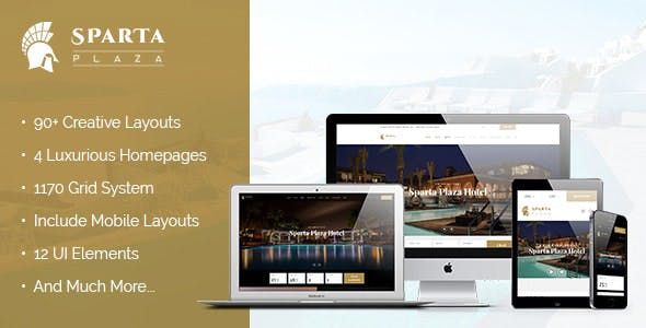 Sparta | Hotel & Resort Joomla Template