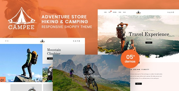 Campee - Adventure Store Hiking and Camping Shopify Theme - Shopify eCommerce