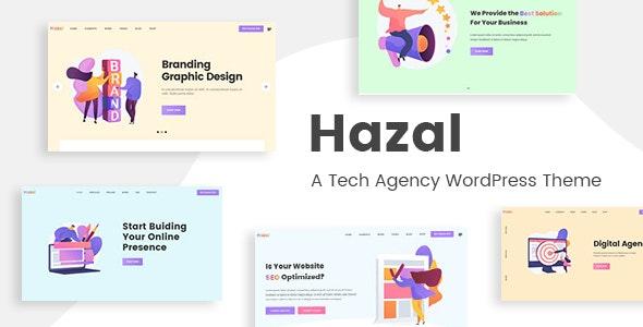 Hazal - A Tech Agency WordPress Theme - Software Technology