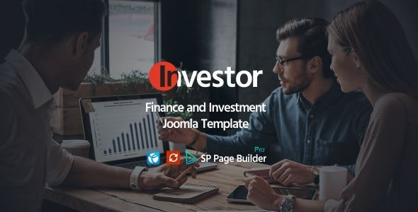 Investor - Finance and Investment Joomla Template - Business Corporate
