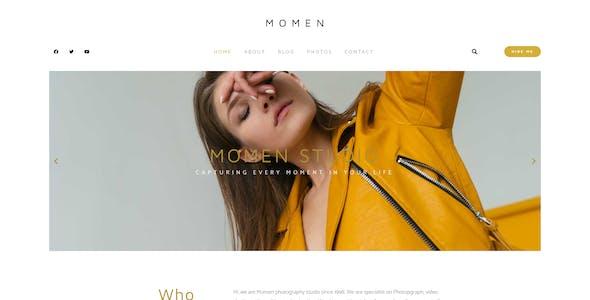Momen - Photography & Blog Elementor Template Kit