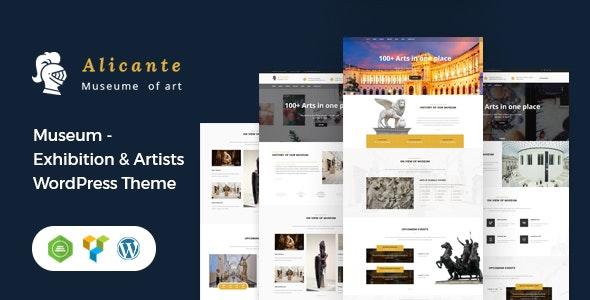 Alicante - Museum & Exhibition WordPress Theme - Miscellaneous eCommerce