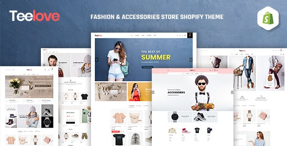 TeeLove | Fashion & Accessories Store Shopify Theme