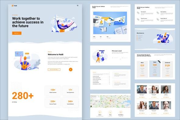 Hadé - Business Elementor Template Kit - Business & Services Elementor