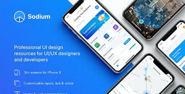 Sodium UI Kit for Figma