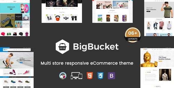 BigBucket - Multipurpose Responsive Prestashop Theme - Fashion PrestaShop