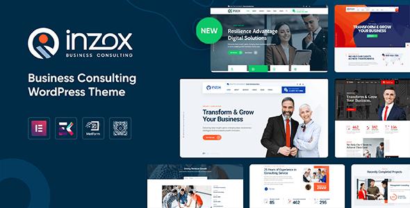 Inzox - Business Consulting WordPress Theme