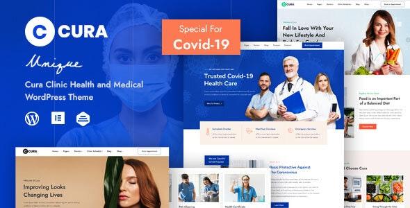 Cura - Medical Clinic Theme - Health & Beauty Retail