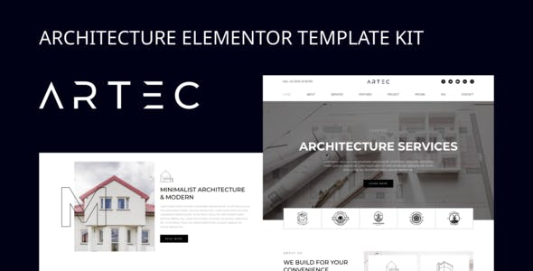 Artec - Architecture Elementor Template Kit