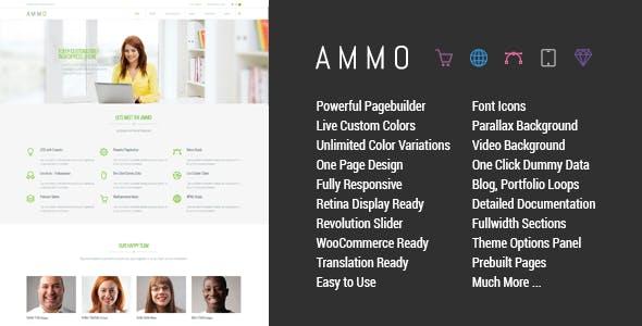 Ammo - Corporate MultiPurpose Theme