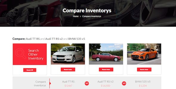 Auto CarForYou - Responsive Car Dealer WordPress Theme