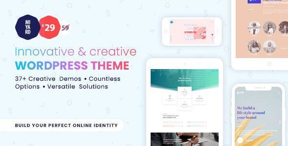 Myriad - Responsive Multi-Purpose Theme - Creative WordPress