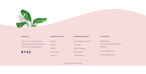Ryse - SEO & Digital Marketing Elementor Template Kit