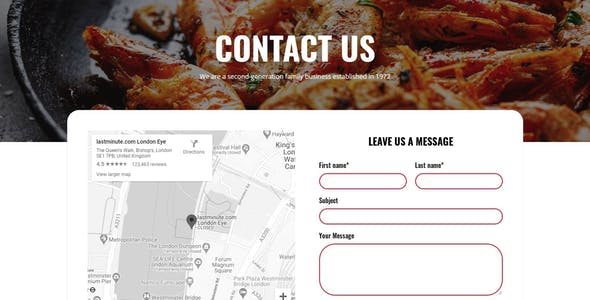 Foodo - Fast Food & Pizza Elementor Templates