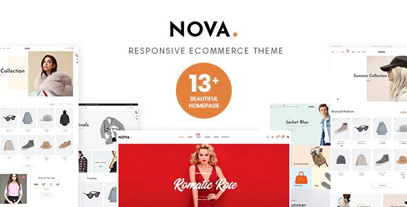 Nova Prestashop 1.7.7.x Theme for Fashion Business - Fashion PrestaShop