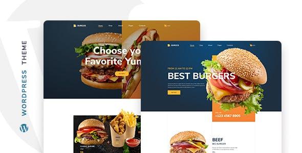 Burgos - Street Food WordPress Theme