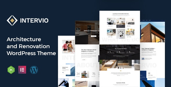 Intervio - Architecture WordPress Theme - Business Corporate