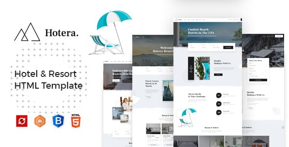 Hotera - Hotel & Resort HTML Template