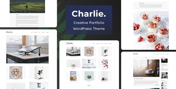 Charlie - Light Minimal Creative Portfolio WordPress Theme - Portfolio Creative