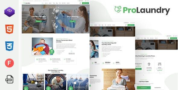 ProLaundry - Laundry HTML Template
