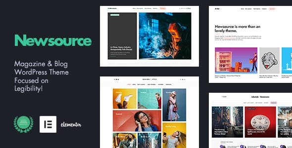 Newsource - Multi-Concept Blog Magazine