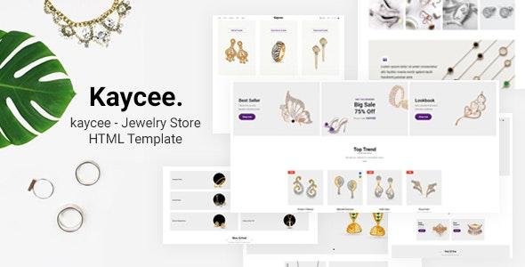 Kaycee - Jewelry Store HTML Template - Health & Beauty Retail