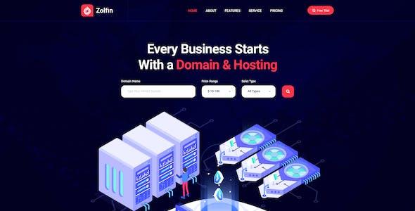 Zolfin - Saas & Digital Marketing HTML Template
