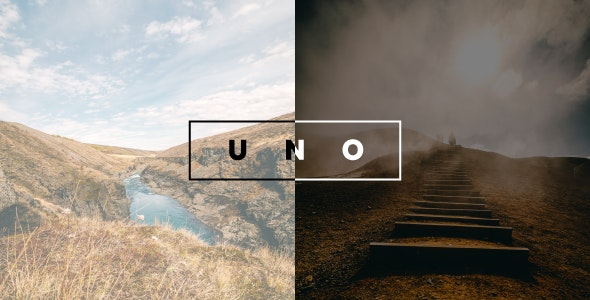 Uno - Creative Photography Template - Photography Creative
