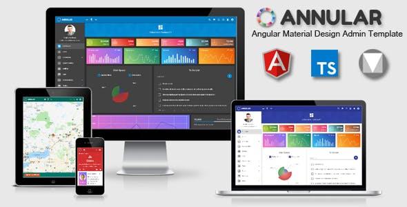 Annular - Angular 11 Material Design Admin Template