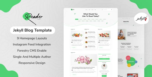Reader - Jekyll Blog Theme