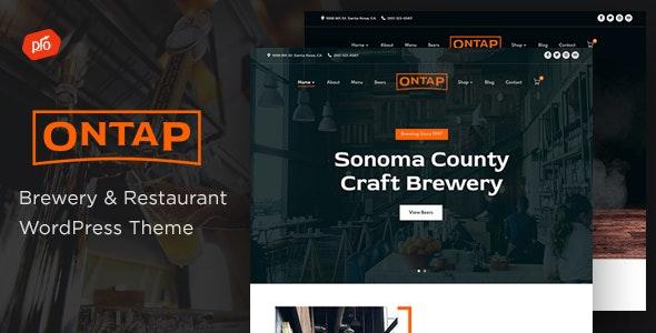 Ontap - Brewery & Restaurant Theme - Restaurants & Cafes Entertainment