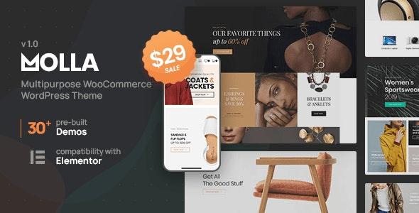 Molla | Multi-Purpose WooCommerce Theme - WooCommerce eCommerce