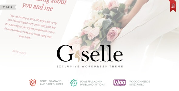Giselle - Exclusive Blog & Fashion WordPress Theme - Blog / Magazine WordPress