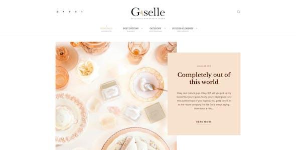 Giselle - Exclusive Blog & Fashion WordPress Theme