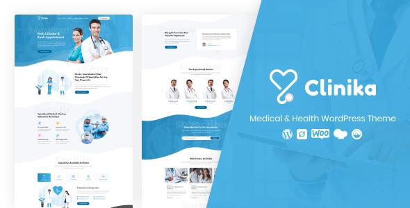 Clinika - Medical Clinic WordPress Theme - Health & Beauty Retail