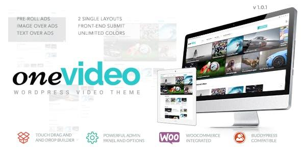 OneVideo - Video Community & Media WordPress Theme