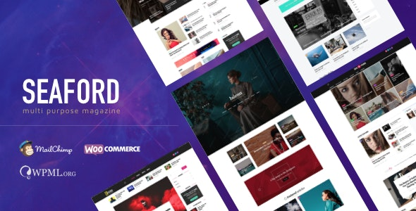 Seaford - Multi-Purpose Magazine WordPress Theme - Blog / Magazine WordPress