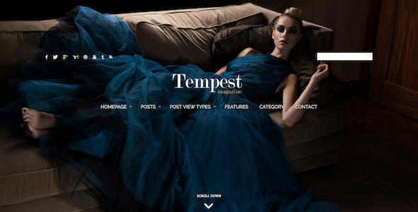 Tempest - Magazine WordPress Theme