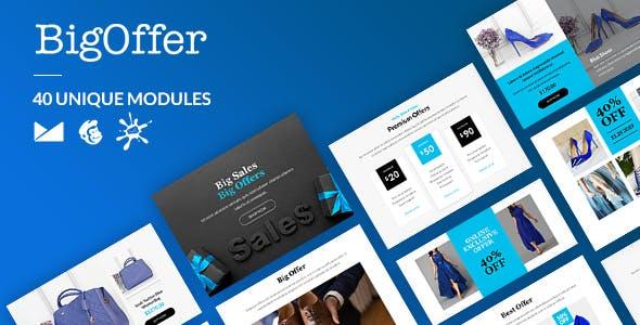 BigOffer Email-Template + Online Builder