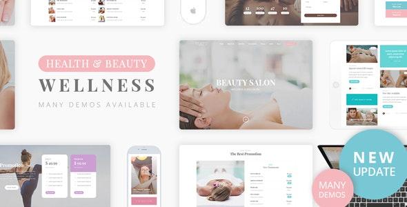 Beauty Wellness - Spa Massage - Health & Beauty Retail