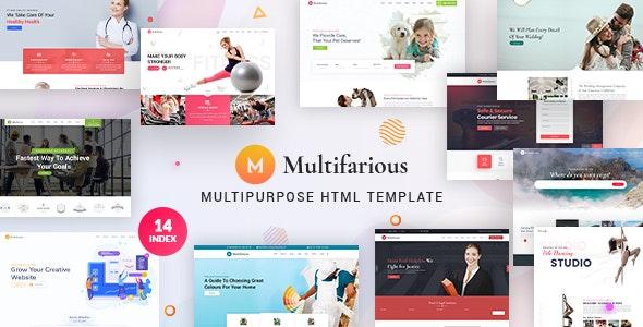 Multifarious - Multipurpose Business HTML Template - Site Templates