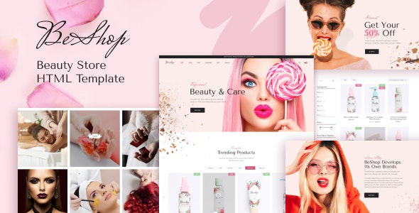 BeShop - Beauty eCommerce HTML Template - Health & Beauty Retail