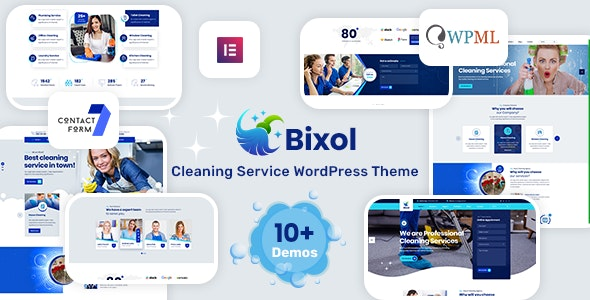 Bixol - Cleaning Services WordPress - Business Corporate