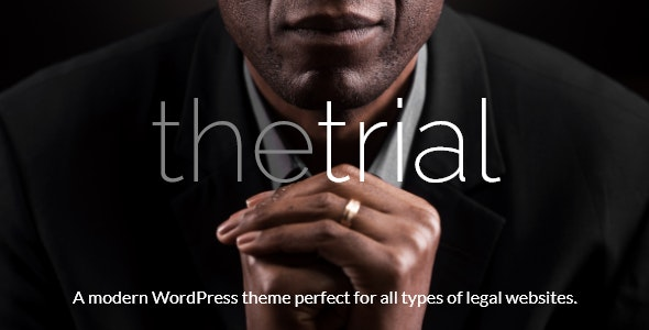 The Trial - Law WordPress Theme - Business Corporate