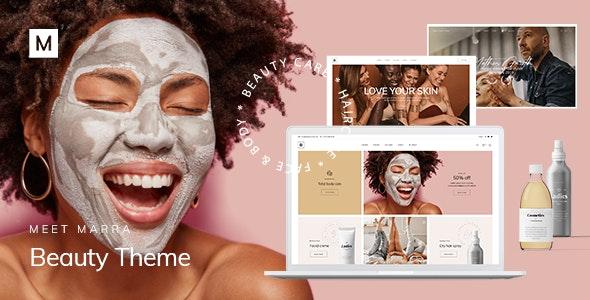 Marra - Beauty WordPress Theme - Health & Beauty Retail