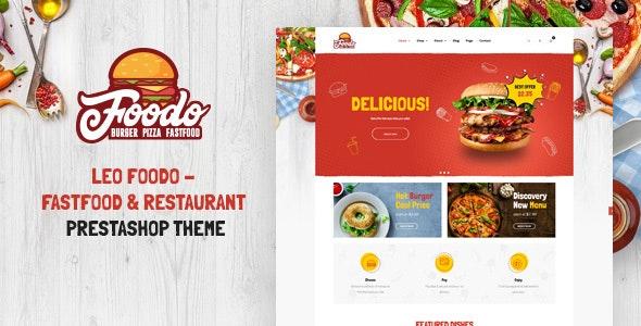 Leo Foodo - Fastfood & Restaurant Prestashop Theme - Health & Beauty PrestaShop