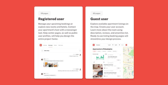 Roomsfy - UI Kit for Real Estate Bookings Apps