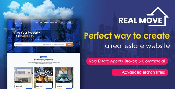 Realmove - Realestate HTML Template - Business Corporate